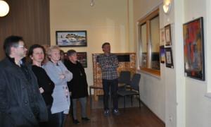 eröffnung1 300x180 Ausstellung Spaß am Malen ist wieder geöffnet