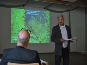 Dr. Peter Casper moderierte die Tagung im Stechlinseecenter