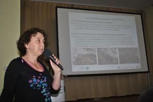 Silke Oldorff informiert über erste Umsetzungsprojekte.