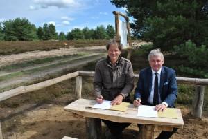 k DSC 00761 300x201 Naturpark schließt mit der Heinz Sielmann Stiftung eine Kooperationsvereinbarung zur Kyritz Ruppiner Heide