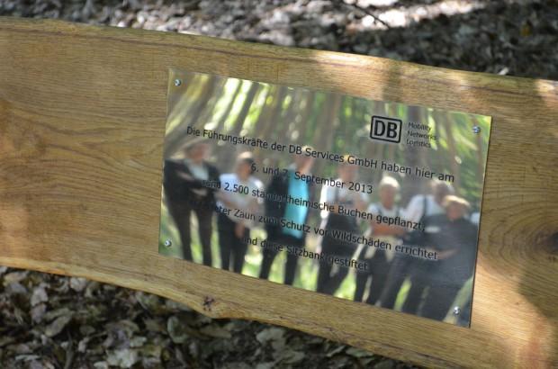 k DSC 0158 620x410 Führungskräfte der Deutschen Bahn pflanzen 2.500 Buchen
