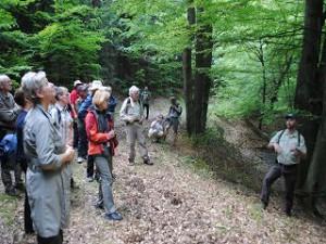 Ministerin Tack auf Exkursion durch den Naturpark