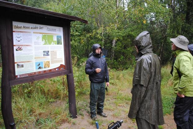 k Exkursion Dänische Gäste 620x415 Dänische Natur  und Umweltschutzexperten auf Fachexkursion im Naturpark