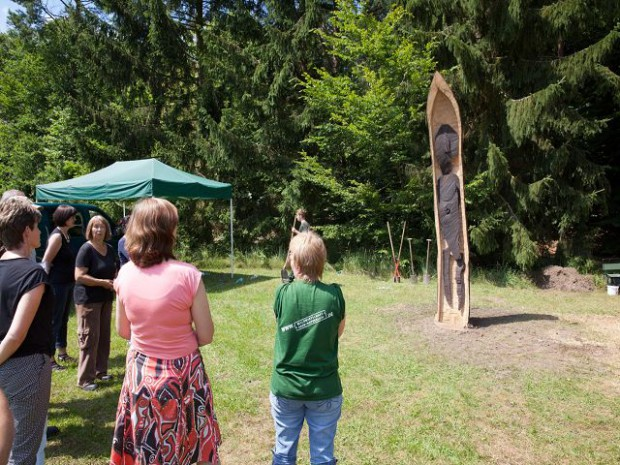 k Führung 1 620x465 13. Internationales Kunstsymposium des Naturparks Stechlin Ruppiner Land