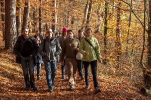 k IGB klein 2 300x200 Internationale Doktoranten auf Fachexkursion im Naturschutzgebiet Stechlin