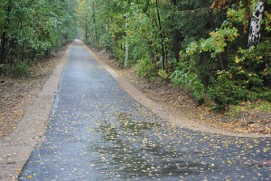 neuer Abschnitt Radwanderweg Menz 300x201 Stechlinsee Radweg wird saniert