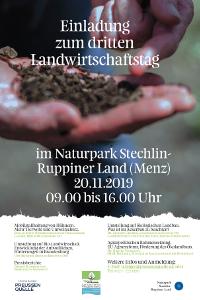 plakat kl 3. Landwirtschaftstag im Naturpark Stechlin Ruppiner Land
