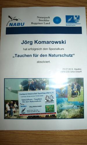 teinehmerurkunde tauchen für den naturschutz P7238612 300x500 Allianz für den Gewässerschutz