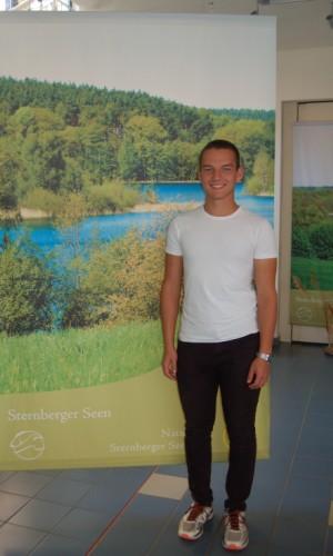 Hannes Plaumann, FÖJler im Naturpark Sternberger Seenland