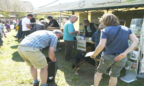 Infostand Markttag in Rothen