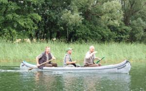 Paddler - Copyright Naturpark Sternberger Seenland