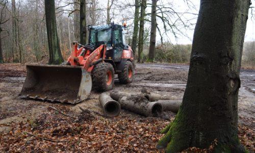 Strietholz 031 Bauarbeiten zur Renaturierung des Strietholzes gehen zu Ende