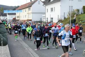 Marathon Läufer klein