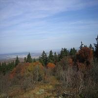 Taunus im Herbst Blick vom Feldberg