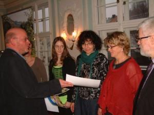 Übergabe der Preise an die Naturpark-Autoren, BA Beate Graumann