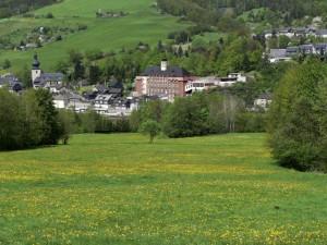 Haus des Volkes in Probstzella - Hotel im Bauhaus-Stil und Tagungsort - Copyright: Dieter Nagel