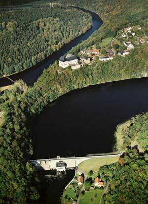 Schloss Burgk und Talsperre Burgkhammer_BA Photo-König