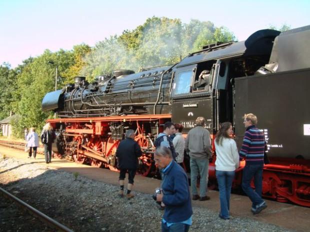 Sormitztalexpress Lokomotive Beate Graumann  620x465 Ausflugstipp im Oktober