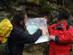 Der Schieferpfad als Ziel der jährlichen geologischen Wanderung, BA Beate Graumann