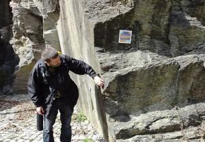 geo21 300x208 Geopark Schieferland   Einladung zur Wanderung in die Erdgeschichte