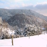 Winterlandschaft im Naturpark Thüringer Schiefergebirge/Obere Saale, BA Beate Graumann