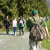Jedes Jahr wandern viele Geologie- oder Naturinteressierte am Schieferpfad, BA Beate Graumann