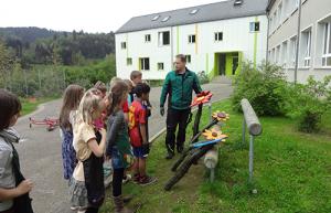 wiese3 300x193 Blühstreifen im Schulhof der Naturpark Schule Leutenberg