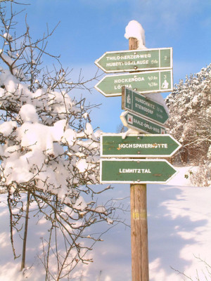 winter2 300x400 Naturpark Thüringer Schiefergebirge/Obere Saale lädt ein