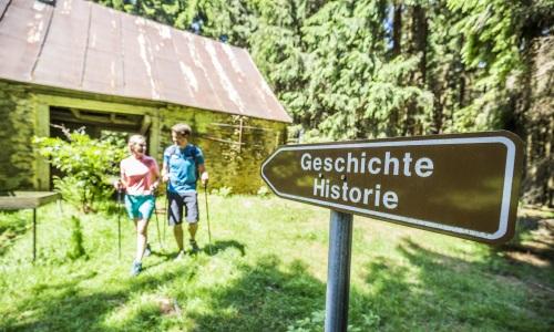 03 3 Bild Erlebnistipp Oberpfälzer Wald Geschichte erleben auf Schritt und Tritt Foto Thomas Kujat Die Grenz Erlebnisrunde