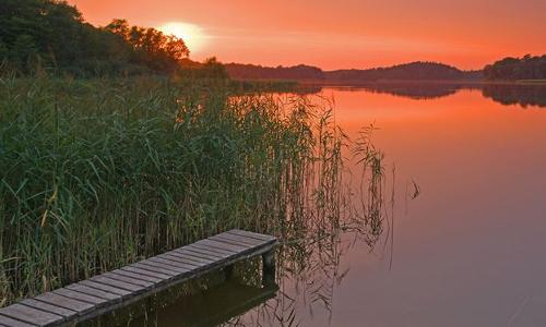 053 Schaalsee Kuechensee Groß Zecher beitrag Maränenballett aus dem Naturpark Lauenburgische Seen