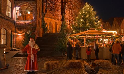 """132 Adventsmarkt Moelln beitrag """"Naturparkgeschichten""""   Weihnachtliches aus Naturparken"""