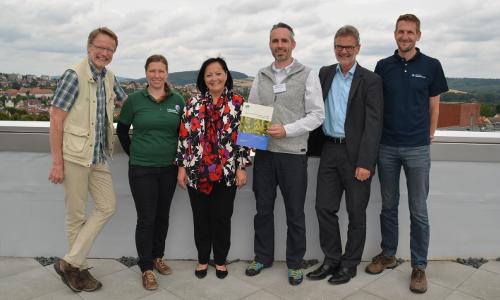 """2 Teilnehmer Abschlussgespräch LK Northb Das Herzstück der """"Qualitätsoffensive Naturparke"""": Die """"Qualitäts Scouts"""""""