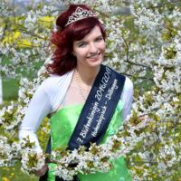 Blütenkönigin Anja Obenhaus (Foto: Veit Rösler/vrs1)