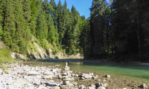 Ammer zw Bad Bayersoien und Kammerl CC Thorsten Unseld 8 b Naturpark Ammergauer Alpen