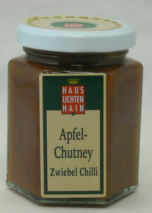 Apfel Chutney 2 Apfel Chutney aus dem Naturpark Uckermärkische Seen