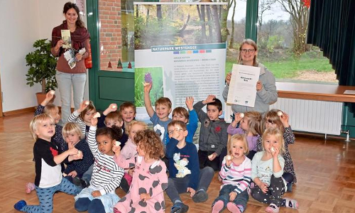 Auszeichnung der Naturparkkita in Blumenthal Copyright  Sorka Eixmann 2020b 30. Naturpark Kita ausgezeichnet!