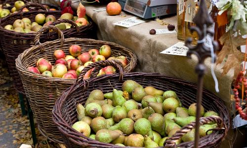 """Bauernmarkt Impressionb1 """"Heimat auf dem Teller"""""""