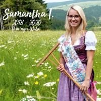 Bergwiesenkönigin Samantha I. © Naturpark Thüringer Wald