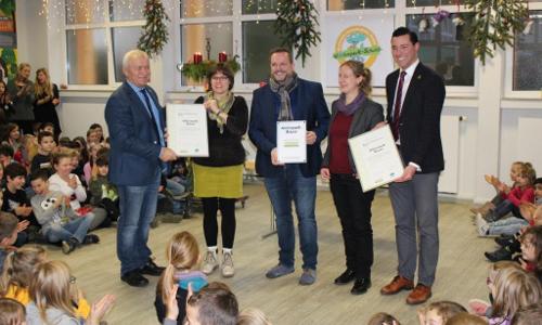 "Bertrada Grundschule Prüm wird erste Naturpark Schule Beitrag ""Erfolgsmodell Naturpark Schule"""