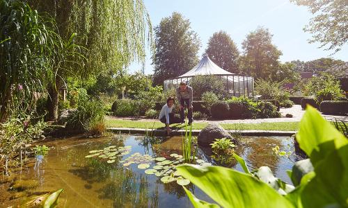 Bibelgarten Werlte ©Naturpark Hümmling b Der Weg ist das Ziel: Pilgern und Wandern im Naturpark Hümmling