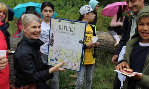Bild 11b Naturaktionstage 2020 gestartet