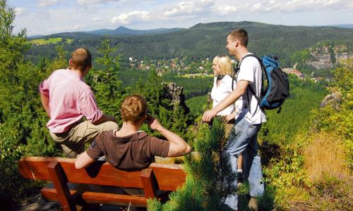Bild 2b1 Oberlausitzer Bergweg