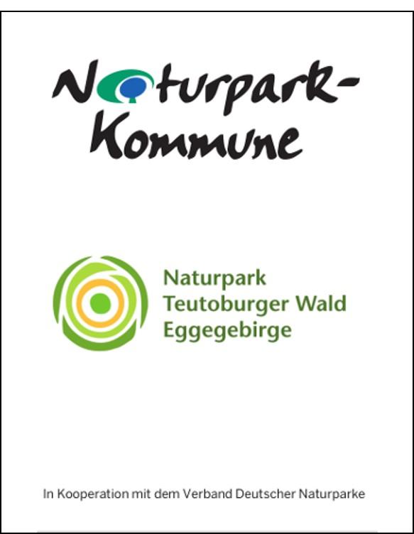 """Bild1 """"Erste Naturpark Kommune in NRW ausgezeichnet"""""""
