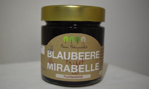 Blaubeer Mirabelle beitrag Waldblaubeere trifft Mirabelle   Fruchtaufstrich aus dem Naturpark Stechlin Ruppiner Land
