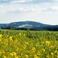 Blick auf den Döbraberg © Frankenwald Tourismus / A.Hub