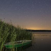 Boot mit Sternenhimmel©Schnieder- Naturpark Westhavelland-schnieder(gekauft)-klein-Beitragsfoto