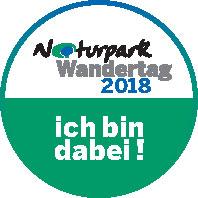 "Button Wandertag 2018 ""Ab in die Natur"" – Naturpark Wandertag 2018"