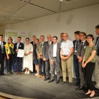 """Vertreter Regionaler Naturparke aus 20 Staaten haben auf dem """"Ersten Europäischen Naturparke-Gipfel"""" eine gemeinsame Erklärung unterzeichnet. Copyright: VDN"""