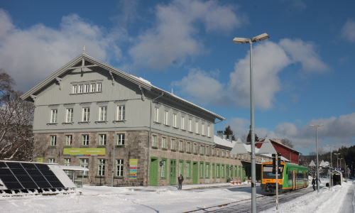 Die NaturparkWelten im Grenzbahnhof Bayerisch Eisensteinb NaturparkWelten im Grenzbahnhof Bayerisch Eisenstein