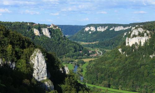 DonauWelle Eichfelsen Panoramab DonauWellen – Premiumwege